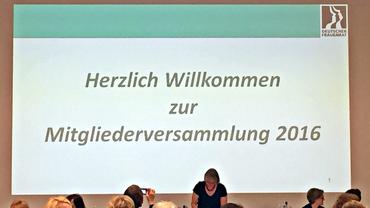 Mitgliederversammlung Deutscher Frauenrat