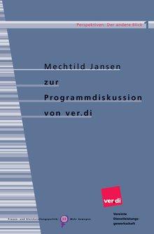 Titelbild der Broschüre zur ver.di-Programmdieskussion