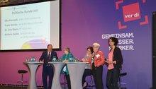 Politische Runde auf der Bundesfrauenkonferenz 2015