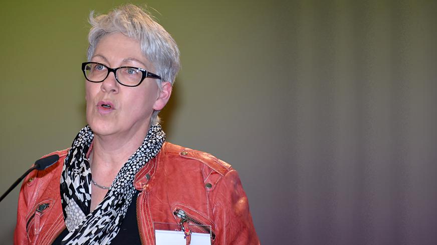 Barbara Henke, Vorsitzende Bundesfrauenrat (Bühne)