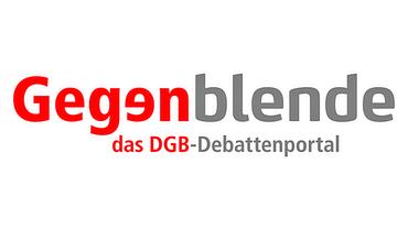 Logo Gegenblende (DGB)
