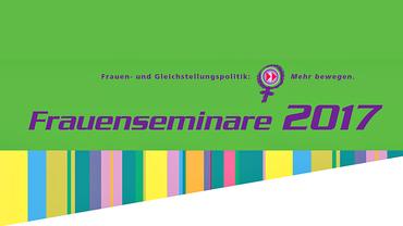 Faltblatt Frauenpolitische Seminare 2017