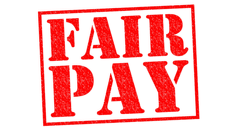 Fair Pay: Wir fordern ganzes Geld für ganze Arbeit!
