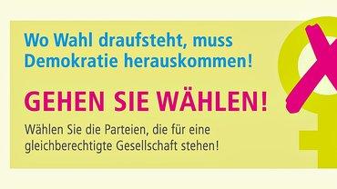 Gemeinsamer Wahlaufruf 2017: GEHEN SIE WÄHLEN!
