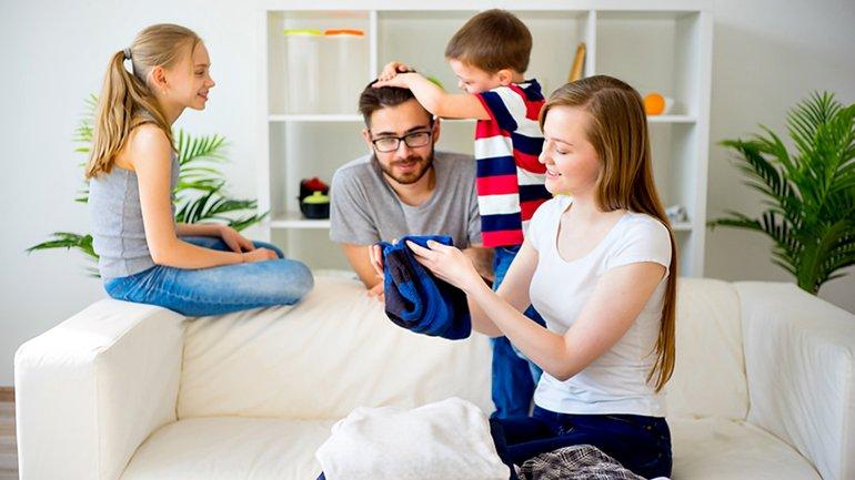 Familie Mutter Vater Kinder Partnerschaft Arbeitsteilung Vereinbarkeit
