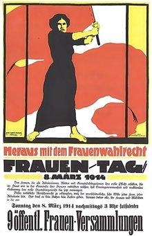 Frauenwahlrecht Frauentag Geschichte