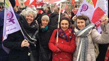 Equal Pay Day 2018 Aktion Brandenburger Tor
