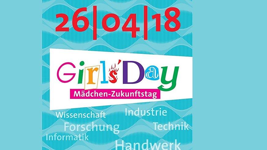 Girls' Day 2018 Logo Ankündigung (Bühne)