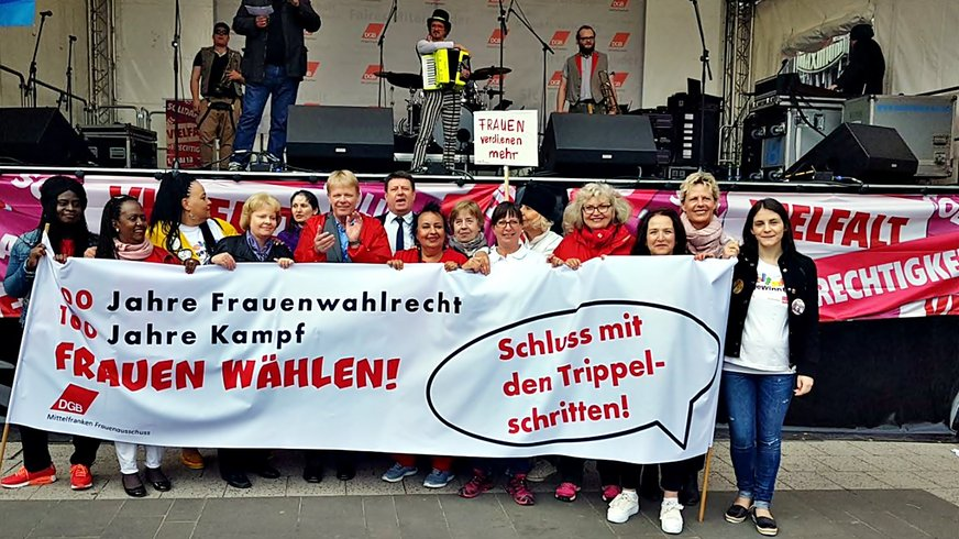 Frauen Aktion 1. Mai 2018 Nürnberg