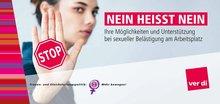 """Flyer """"NEIN heißt NEIN"""""""
