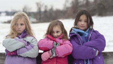 Kinder Geschwister Familie Mädchen