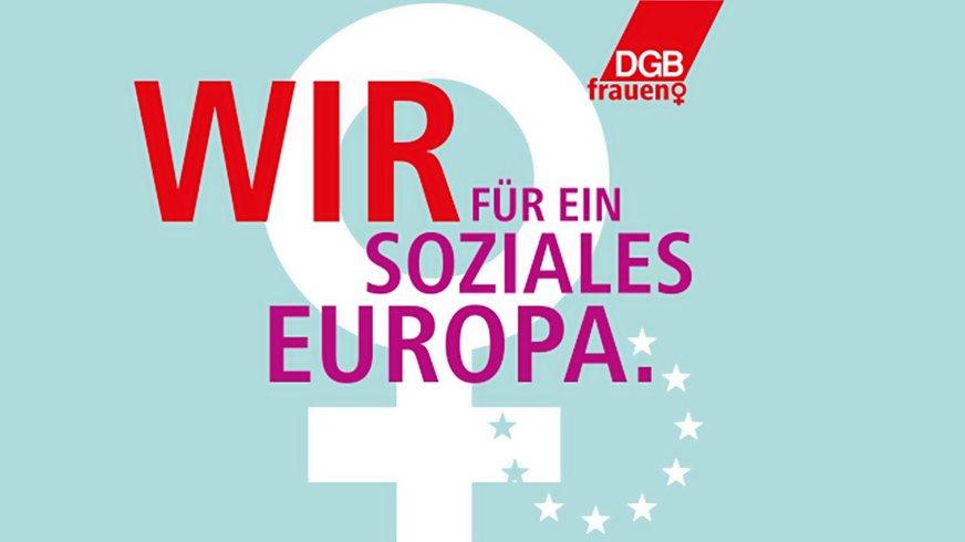 DGB Frauen IFT Frauentag 2019 Logo (Bühne)