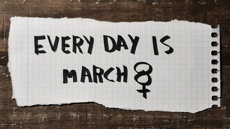 8. März Frauentag Frauenrechte Demo
