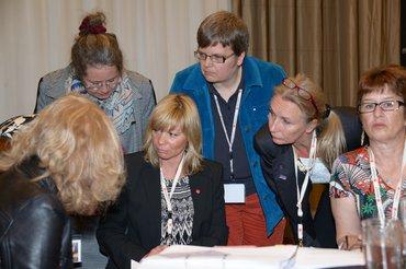 Antragsberatung auf der Bundesfrauenkonferenz 2015
