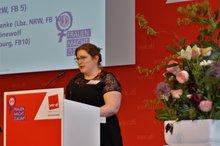 Bundesfrauenkonferenz 2019 Rede Hannah Koppetz