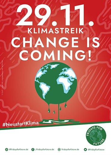 29.11.2019 Klimastreik Fridays for future hochkant
