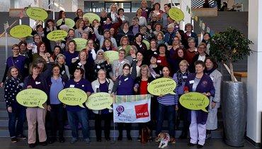 08. März Frauentag 2019 Gruppenfoto LBK Frauen Hessen