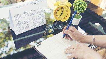 Kalender Veranstaltung Notiz Frau
