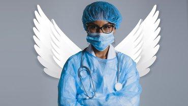 Frau Arzt Medizin Krankenhaus Klinik Krankenschwester Engel