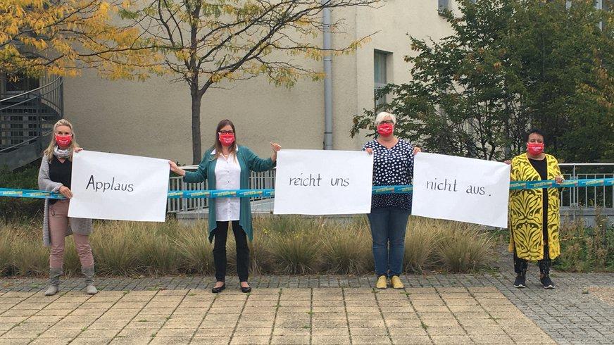 ver.di Bundesfrauenrat Solidarität Tarifrunde öffentlicher Dienst 2020
