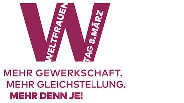 Frauentag IFT Logo DGB Frauen 2021 Bühne